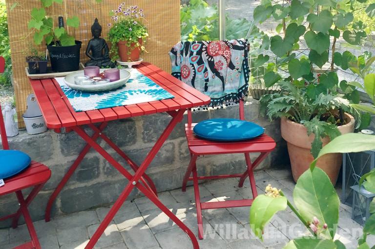 MUR MAXI - Växthus på mur ger känslan av ett gårdshus