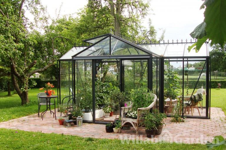 T-CLASSIC - Ett riktigt elegant växthus med sin T-form